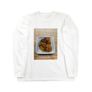 豚の角煮 Long sleeve T-shirts
