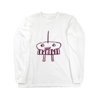 本田の鬼 Long sleeve T-shirts