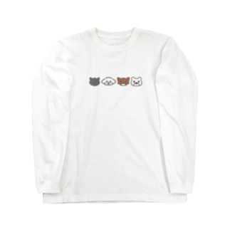 ちーむあにまる Long sleeve T-shirts