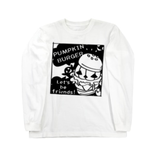 Gz かぼちゃバーガーD Long sleeve T-shirts