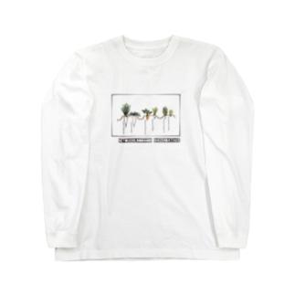 冬のはたけ Long sleeve T-shirts