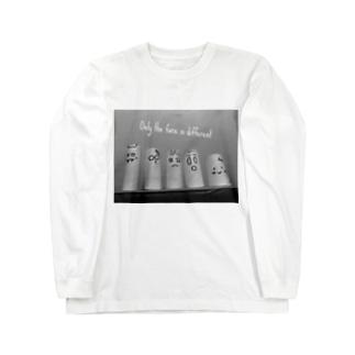 芯のファミリー Long sleeve T-shirts