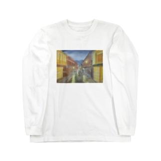 ひがし茶屋 Long sleeve T-shirts
