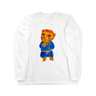 タタどん Long sleeve T-shirts