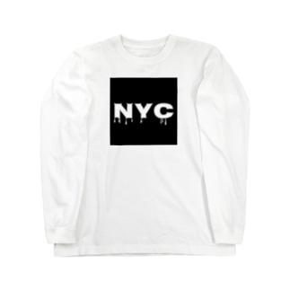 NYC melting Long sleeve T-shirts