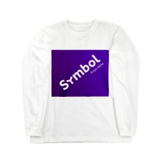 symbol斜め Long sleeve T-shirts