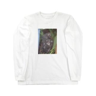 ひよひよちびちびそぼろ Long sleeve T-shirts