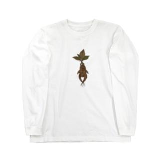 マンドラゴラ Long sleeve T-shirts