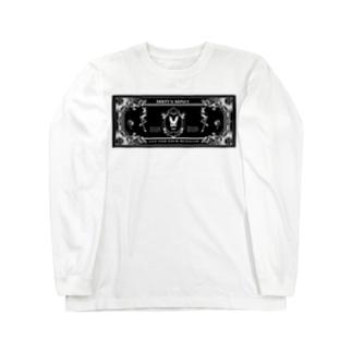 dirty money No.0 Long sleeve T-shirts