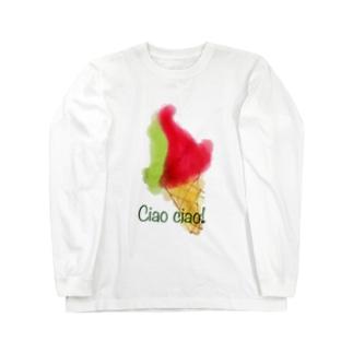 Ciao ciao!🇮🇹 Long sleeve T-shirts