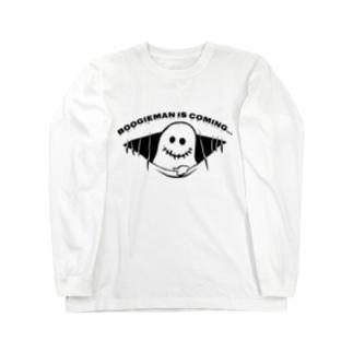 ブギーマンがやってくる Long sleeve T-shirts