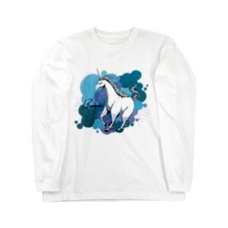 ユニコーン Long sleeve T-shirts
