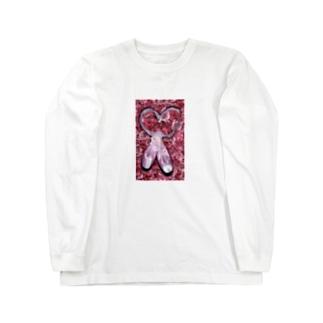 バレエコレクション トウシューズ pink Long sleeve T-shirts