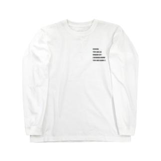 ILYロングスリーブシャツ Long sleeve T-shirts
