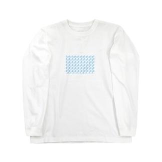 ランダムドット Long sleeve T-shirts