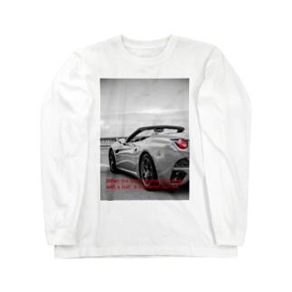 スポーツカー Long sleeve T-shirts