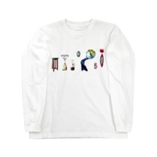 夢みるクロネコ Long sleeve T-shirts