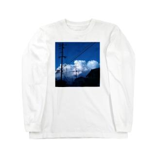 モクモ雲 Long Sleeve T-Shirt