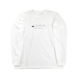 ゆるロゴ ロンT 黒ロゴ Long sleeve T-shirts