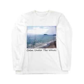 七里ヶ浜 長袖Tシャツ Long sleeve T-shirts