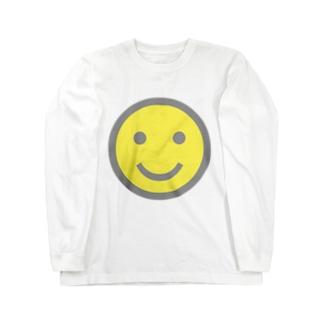 スマイル Long sleeve T-shirts