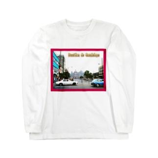 メキシコ:グアダルーペの風景写真 Mexico: Basílica de Guadalupe Long sleeve T-shirts