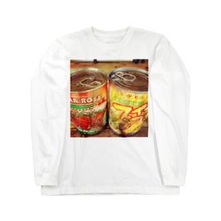 サビペイント 缶詰! オシムラ Long sleeve T-shirts