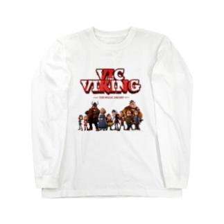 フラーケ族 Long sleeve T-shirts