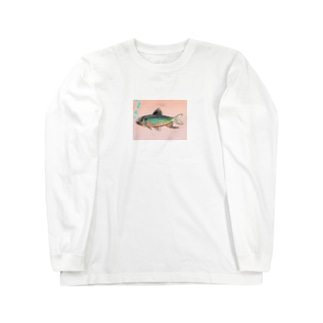 オイカワグッズ Long sleeve T-shirts