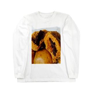 黒糖饅頭 Long sleeve T-shirts
