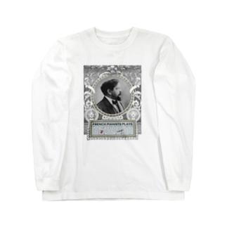 Debussy's Corner Long sleeve T-shirts