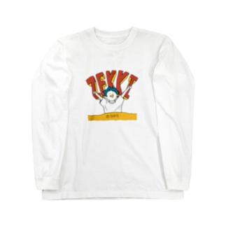 絶起マン Long sleeve T-shirts
