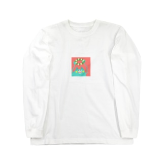 草+化=花 Long sleeve T-shirts