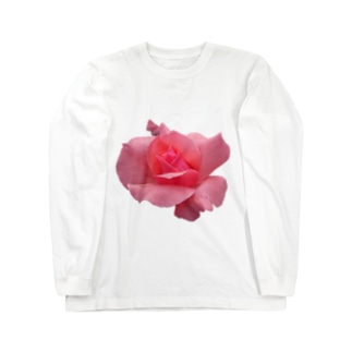 The Rose (Half-blooming) Long sleeve T-shirts