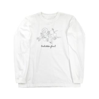 禁断の果実 Long sleeve T-shirts