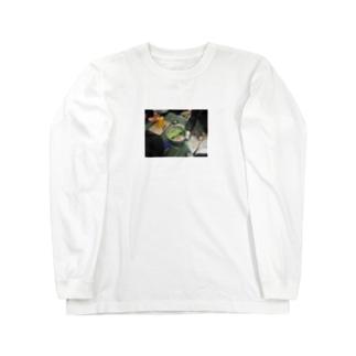幹事長のもつ鍋 Long sleeve T-shirts