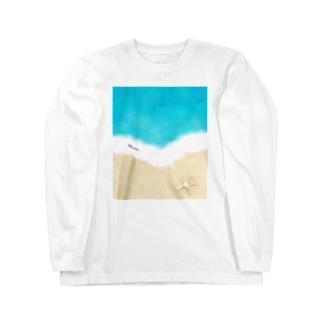 マリンTime Long sleeve T-shirts