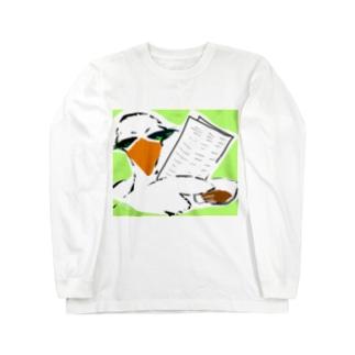 情報屋 トリさん Long sleeve T-shirts