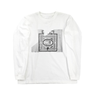 マンホール2 Long sleeve T-shirts