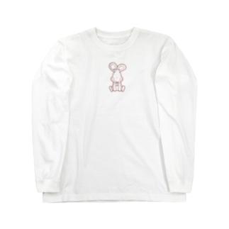 可愛いうさぎ Long sleeve T-shirts