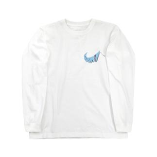 zouのナ…ぞうさんくん(歪み) Long sleeve T-shirts