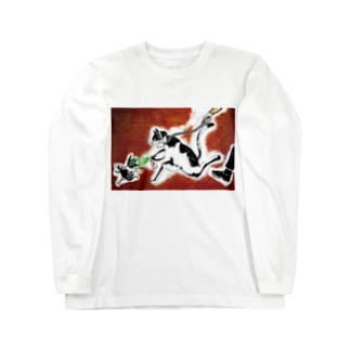 street カラー Long sleeve T-shirts