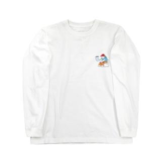 オマルコくん_sora Long sleeve T-shirts