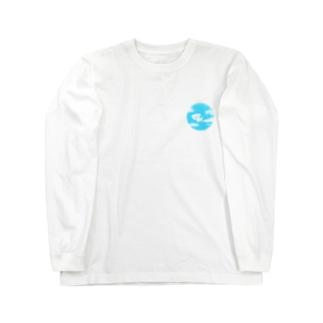 ビションフリーゼ/雲 Long sleeve T-shirts