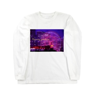 横浜夜景4 Long sleeve T-shirts