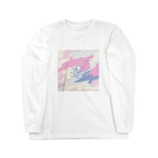 乙女の挑戦 Long sleeve T-shirts