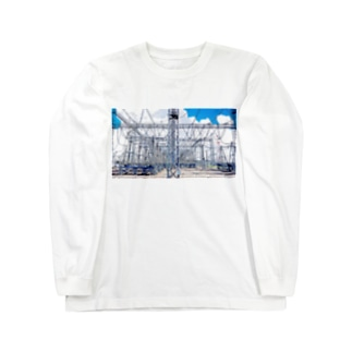 送電線 Long sleeve T-shirts