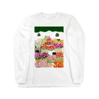 花屋 Long sleeve T-shirts