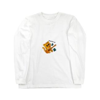 やんちゃなぺぇ助 Long sleeve T-shirts
