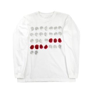 バラ色の日々 ロンT Long sleeve T-shirts